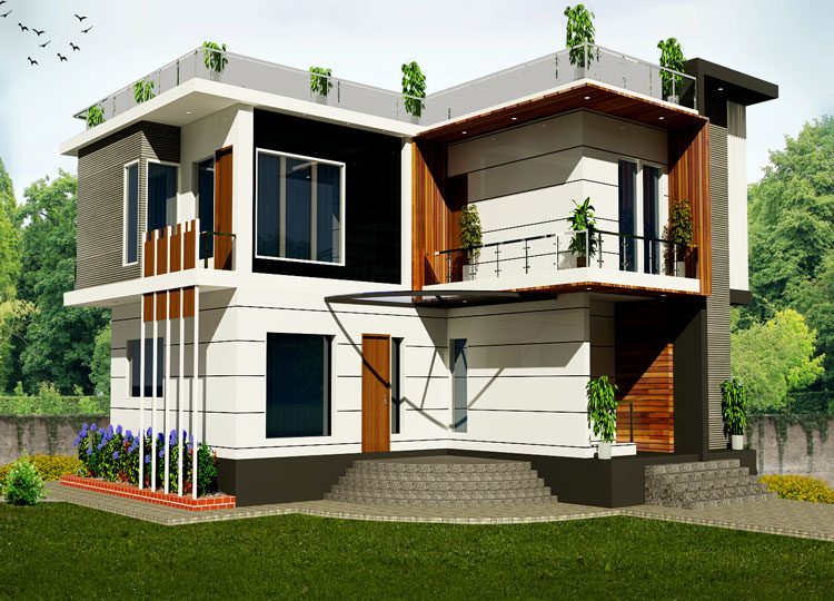 Front Elevation Wooden Tiles : Front elevation tiles in delhi for
